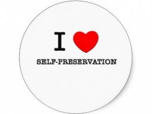 Os limites da auto-preservação